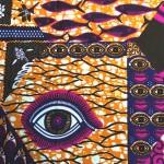 続・アフリカンプリント柄の意味~Eye~
